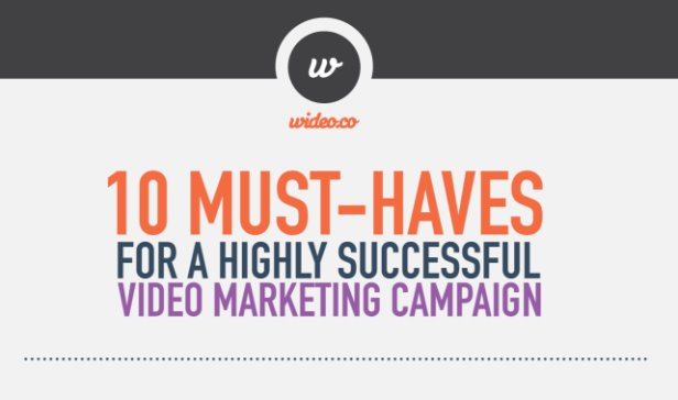 10 Must-Haves for a Highly Successful Video Marketing Campaign